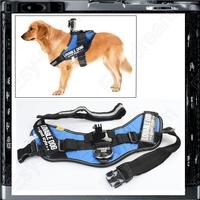Blue Fetch Dog Harness Strap Adjustable Chest Belt Mount for Gopro4 Gopro3+ Gopro Hero4 Hero3+ Hero2 SJ4000 Gotop
