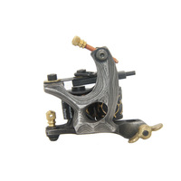 DHL&EMS Freeshipping 5pcs/Lot Top Quality Handmade Tattoo Machine Gun with 8 wrap coils of Copper Wire for liner Supplies