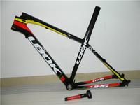 2015 Frame LOOK 986 M1-M4 Color With Stem E-Post Mountain bike 26ER / 29ER MTB Bicicleta carbono Frame set