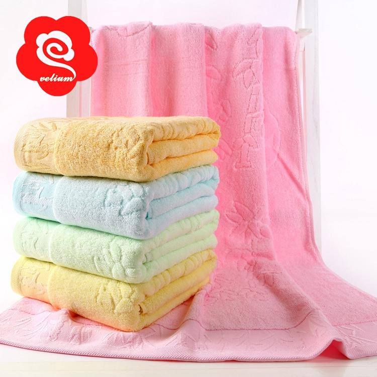 Velium brand 1pcs bamboo fiber 70 140 cm 100% soft bath towels for adults towel set towelling cheap beach towels washcloth FB59(China (Mainland))
