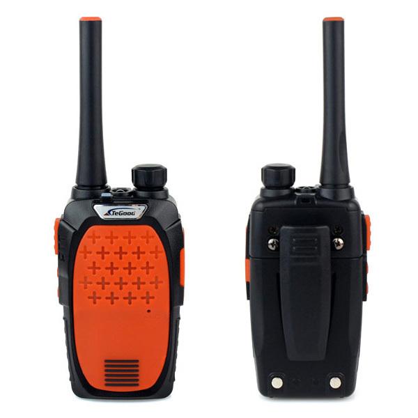 2 pcs Walkie Talkie TeGood TG-189 UHF 400-480 MHz 3W 16CH Monitor Flashlights With Earpiece FM Transceiver Portable Radio A7153O(China (Mainland))