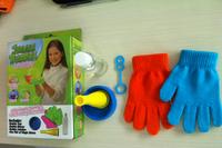 Wholesale ! NEW Juggle Bubble Bouncing Bubble Set ,juggle bubbles AS SEEN ON TV Free shipping