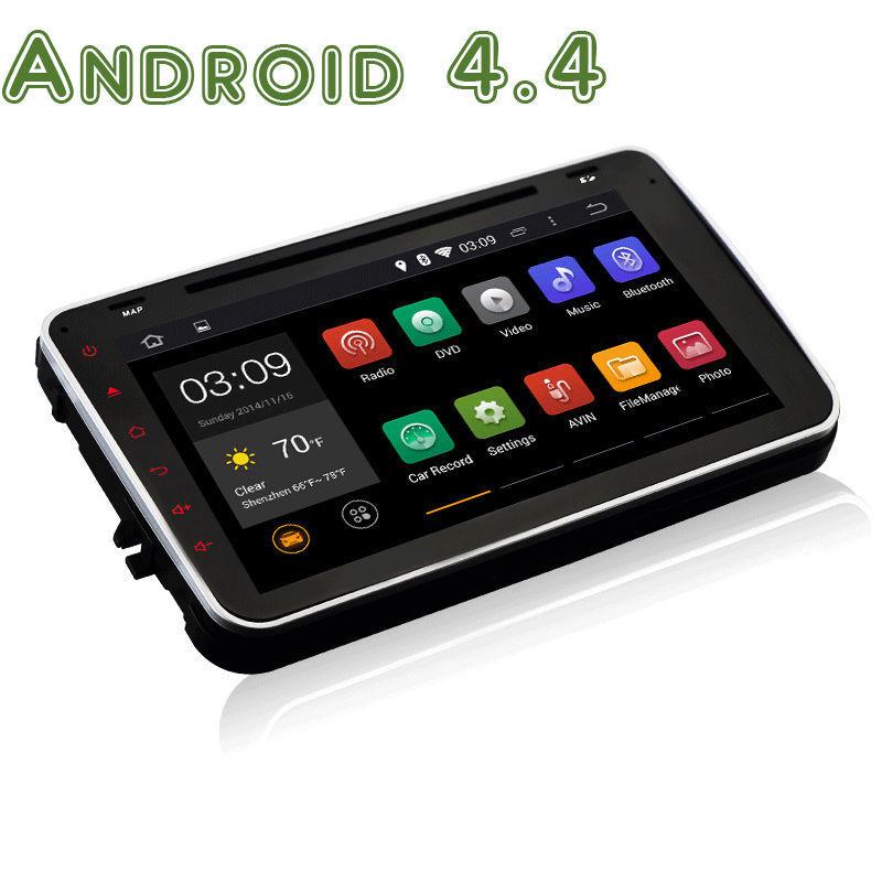 2 din Android 4.4 vw volkswagen Skoda Polo Jetta Tiguan Golf 5 6 Bora Magotan Sagitar Touran Passat B6 B7 cc caddy car dvd gps(China (Mainland))