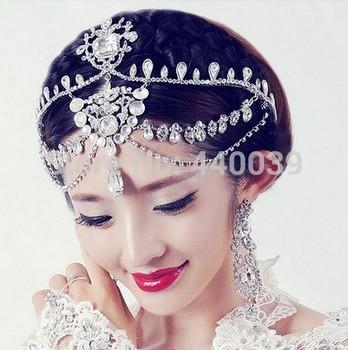 2015 FW64 высокий класс блестящие стразы свадебный корона принцессы корона аксессуары ...