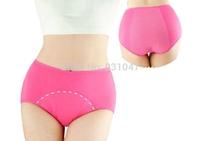 Quality Front Back Cover Women Girl Period Menstrual Physiological Tanga Cotton Briefs Underwear Panties M/L/XL/XXL/XXXL