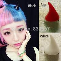 3X Halloween Devil Horns Ears Clip Double Hairpin Corner Hair Jewelry T1094 P