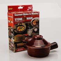72sets/lot Stonewave as seen on tv Stone Wave Microwave Cooker Gourmet dishes in minutes #GN4628