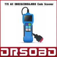 Highen Diagnostic Scan Tool T70 All OBD2 & EOBD & JOBD Code Scanner Control Area Network Protocol Multi Language Support