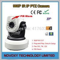 Free Shipping 960P HD Plug&Play Wireless WiFi Pan Tilt IP Camera with PIR Alarm Baby Monitor IR CUT  Home Nanny Camera