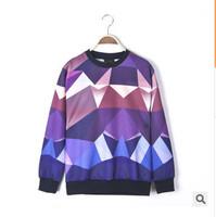 latest style 3D printed sweatshirt 2015 Autumn New fashion Men/Women's hoodies and sweater o neck men Sweatshirts casual