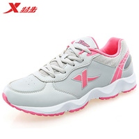 Xtep spring women running shoes , Non-slip cushiong sport sneakers female zapatos mujer