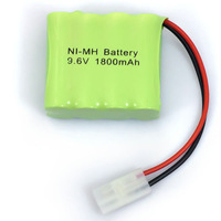 Practical 9.6V 1800mAh 8x AA NIMH RC Rechargeable Battery Pack Modle-3 For Toys