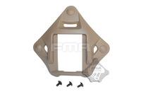 10pcs good quality ACH, MICH, PASGT tactical helmet cover night vision NVG Mount Helmet Rail Adapter DE