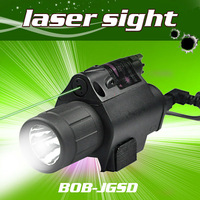 Hot Sell 200 Lumen Tactical Laser Flashlight Combo & 5mw Red Laser Sight for pistol
