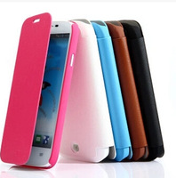 2014  Hightest Quality  BOSO Brand Flip  Leather Case Pouch Cover For Fly IQ453   Phone with retail package