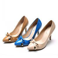 Sapatos Femininos Size 4 Bowtie Wedding Women Pointed Toe High Heel So Kate Pumps Shoes Woman Zapatos Mujer Sexy Envio Gratis