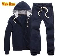 Wholesale Brand Men's Polo Tracksuit Brand Sportsuit Winter Running Track Sportswear Hoodies Sports Pants Jackets Coats