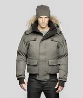 2014 Free Shipping Hot sale Brand Man's Real Raccoon Fur CARTL Men's Bomber Heather, Men's Down Outerwear