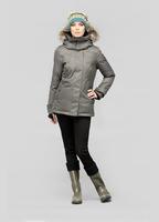2014 On Sale Luna Parka High Quality Wholesale 100% real fur winter women down jacket fur hood Free shipping canada