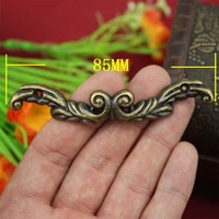 85mm Handle Antique jewelry box drawer handle alloy handle handle handle gift box accessories
