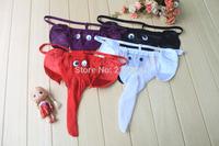 Hot See-through Mesh Pattern Sexy Gstring Underwear for Men m030