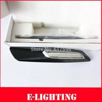 2pcs/lot Clear Lens LED Side Marker Fender Lamp Turn Signal Light for BMW E82 E88 E60 E61 E90 E91 E92 E93