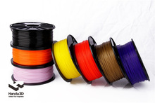 Premium Free Shipping 12 pcs/lot 3D printer filament  PLA ABS 1.75mm 3mm 1kg/2.2lbs NW Consumable Material 3D Printer Supplies