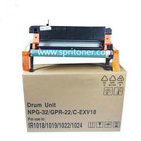IR1018 Drum Unit Copier Parts For Canon IR1019 IR1022 IR1024 Drum Kit NPG-32 Drum Unit GPR 22 CEXV18 Drum Unit