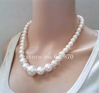 New Statement  Fashion Choker Pearl Necklace Women Elegant Collar Bib Body Jewelry