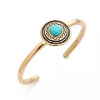 New 2014 Kallaite Bracelets 18K Gold Plating Bracelets Bangles Gift For Women Jewelry