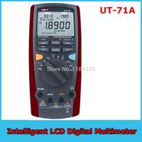 UNI-T UT-71A Intelligent LCD Digital Multimeter Voltmeter Tester Meter AC DC Temperature with display Ultralight lightweight
