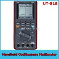 2015 New Arrival Sale Voltmeter Professional Uni-t Ut-81b Intelligent Lcd Digital Handheld Oscilloscope Multimeter with Display