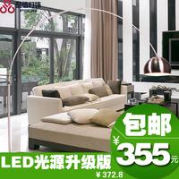 Free shippingBig promote modern minimalist living room floor lamp bedroom lighting fixtures parabola fishing
