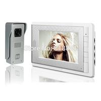7 inch LCD Display Screen Video Doorphone Doorbell Intercom 24 Ring DoorBell Waterproof Night Vision Security Camera
