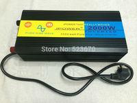 2000W/4000W(Peak) Pure Sine Wave Power Inverter DC 24V to AC 220V SOFT START UPS Charging