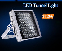 LED tunnel light 112W AC85-265V 112LEDS  Warm White/White Led flood Lights Lamp Outdoor Lighting Streetlight