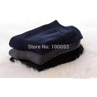 2015 New  Men Warm  Socks Men's Thicken Socks 5 Pairs/lot Plus Velvet  Long Polyester Bamboo Fiber Socks  Retail
