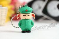 Lovely pen drive 64GB Dragon Ball Pig USB STICK, cartoon flash memory 64G pig gift box