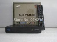 Free DHL SKYBOX A6 Full HD Sunplus1506 FTA satellite decoders digital  receiver iptv 3G set top box