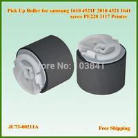 50pcs/lot pickup roller JC73-00211A pick up roller for samsung 1610 4521F 2010 4321 1641 CLP300 xerox PE220 3117 Printer