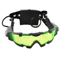 Unique Simulative Night Vision Goggles Glasses Toy with Blue Led Lights