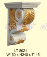 Continental ceiling waterproof waterproof resin corbels stigma pest new decorative materials 24cmx15cmx14.5cm