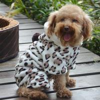 Pet Soft Winter Fleece Palysuit Apparel Dog Coat Puppy Clothes Palysuit Outwear Free Shipping