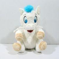Original Classic Animation Hercules Baby Pegasus Plush White Horse Toys 10''/25cm Pelucia Plush Toys for Children Kids Toys Gift