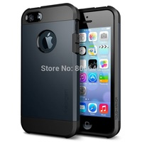HIGH SLIM ARMOR Case For iPhone 4 4S 4G Phone Bags Hard Back Cover Luxury TPU Plastic Hybird Cases For iPhone4 iPhone 4S