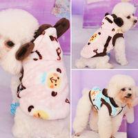 Cute Sheep Clothes Pet Puppy Dog Winter Warm Fleece Hoodie Coat Sweater Apparel Free Shipping