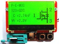Big 12864 Mega328 Transistor Tester Diode Triode Capacitance ESR Meter MOS