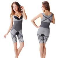 Bodysuit Women Charcoal Sculpting Underwear Magic Bamboo Slimming Suits shapewear waist training corsets waist cincher shaper