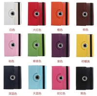 For Apple iPad 2 3 4 9.7 Inch 360 Degree Rotating Flip Leather PU Case With Stand Phone Case Tablet Covers+Screen Protector+Pen