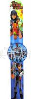 stocking hot new Free shipping DHL250pcs/lot love SLUGTERRA cartoon  clap watches,children watch,best gift to children